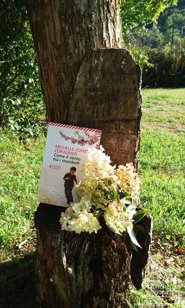Fotografia del libro come il vento tra i mandorli di www.librichepassione.it
