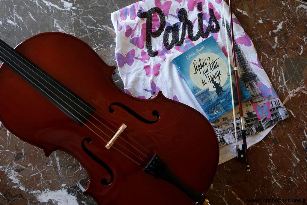 """foto del romanzo di Katherine Rundell, """"Sophie sui tetti di Parigi""""a cura di librichepassione.it"""