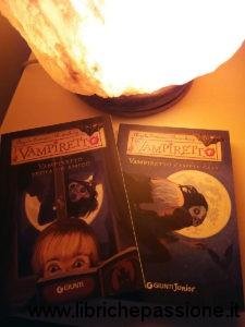 """copertina del libro """"Vampiretto"""" di Angela Sommer-Bodenburg, foto librichepassione.it"""