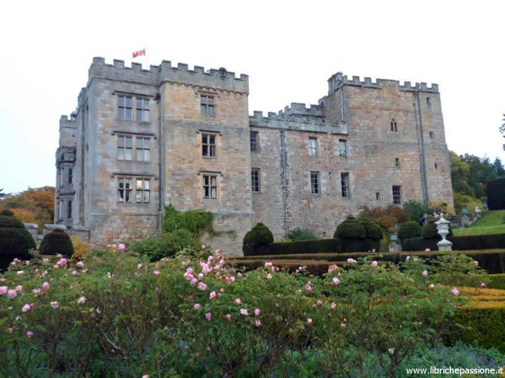 Il castello di Chillingham Gardens. Fotografia della scrittrice Caroline Roberts