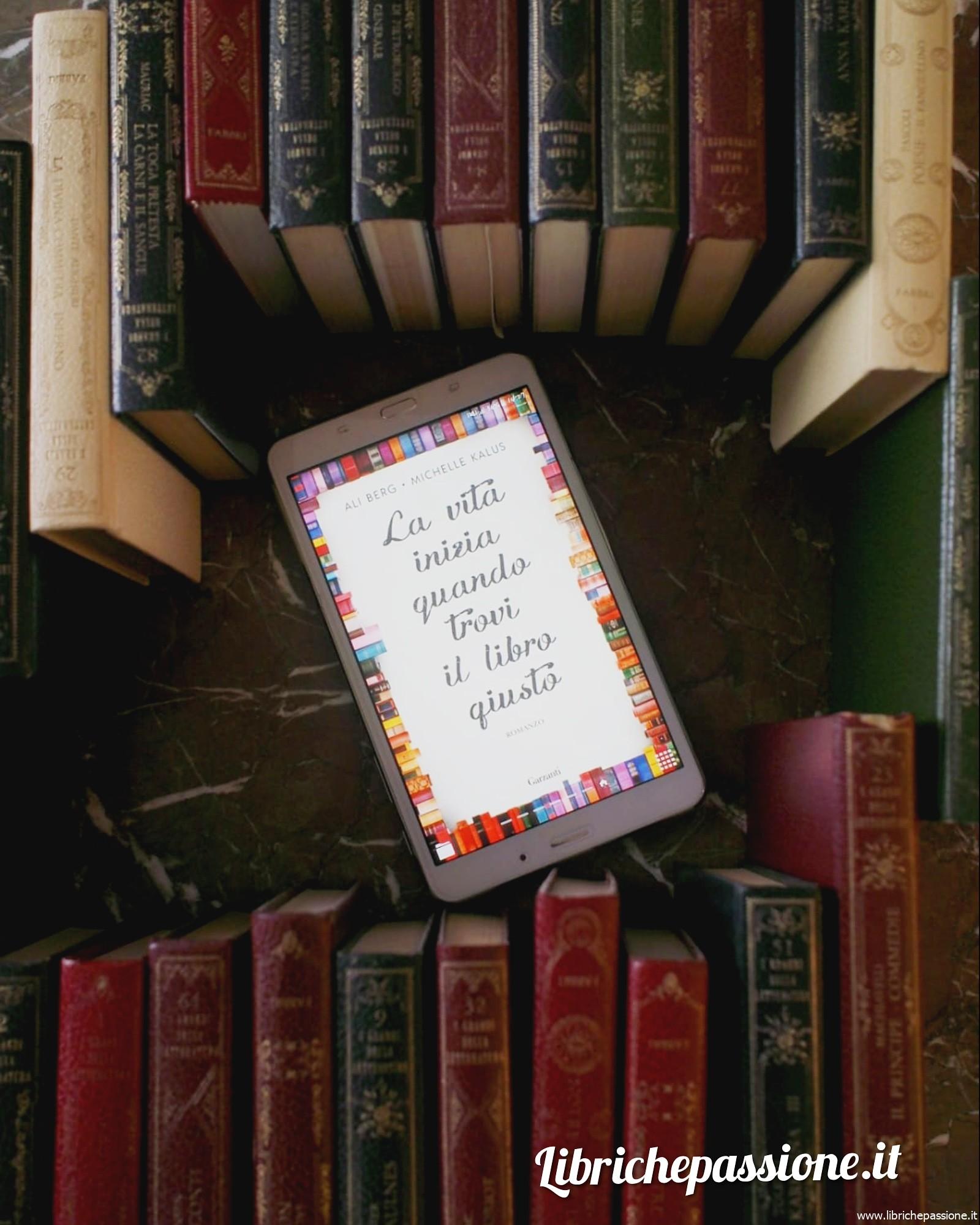 """Buongiorno lettori! """"La vita inizia quando trovi il libro giusto"""""""