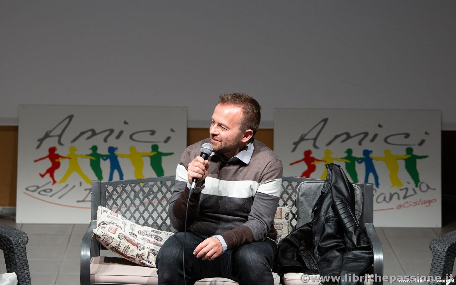 Incontro con lo scrittore Enrico Galiano presso l'Auditorium di Cislago (Varese) – 29 Marzo 2019