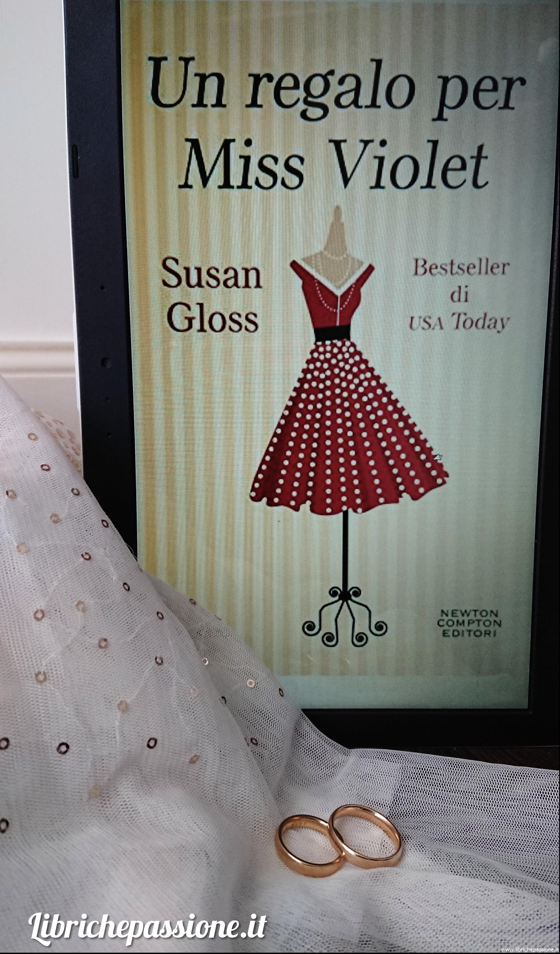"""Recensione del romanzo """"Un regalo per Miss Violet"""""""