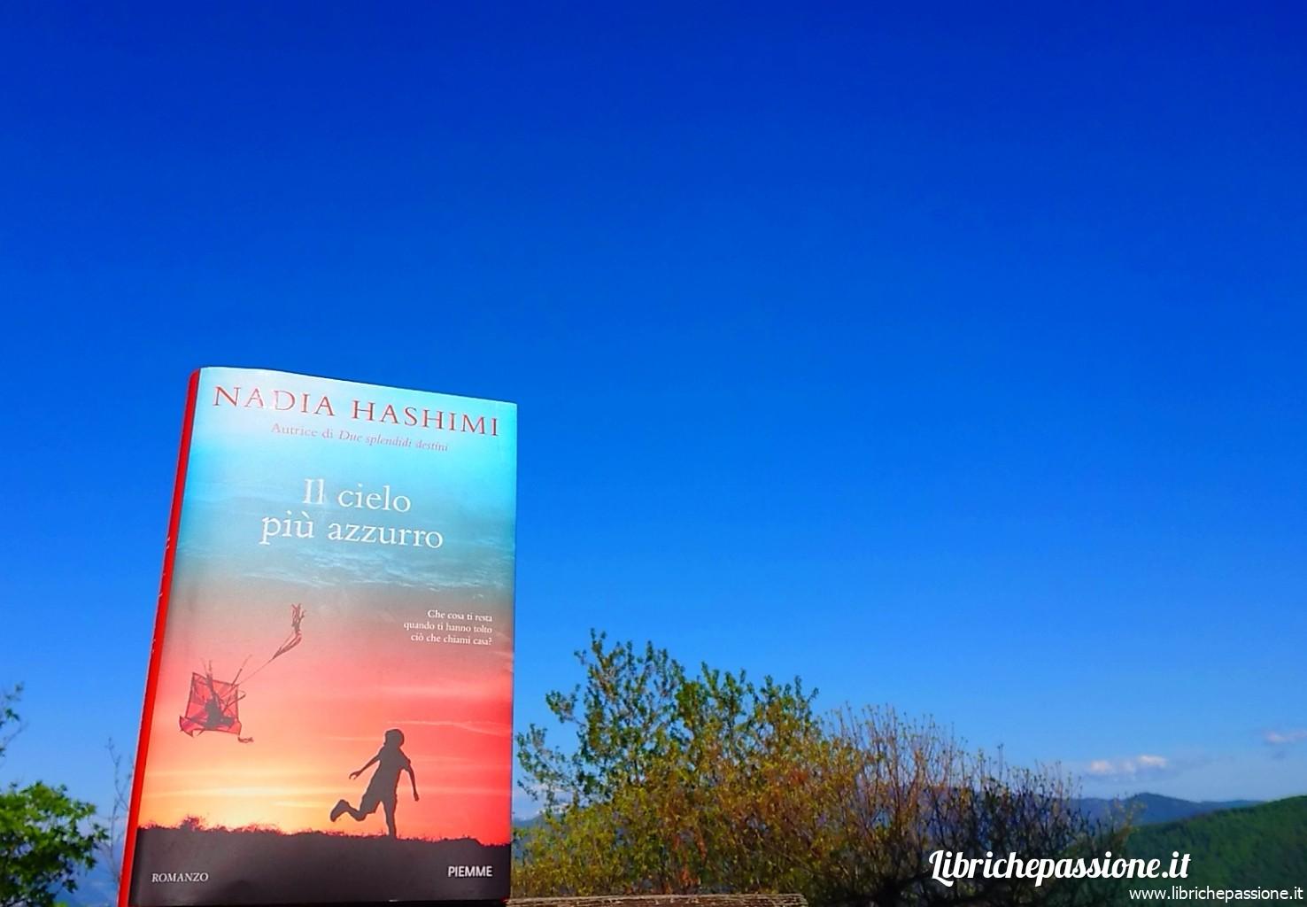 """Recensione del romanzo """"Il cielo piu' azzurro"""", autrice Nadia Haschimi, edito Piemme"""