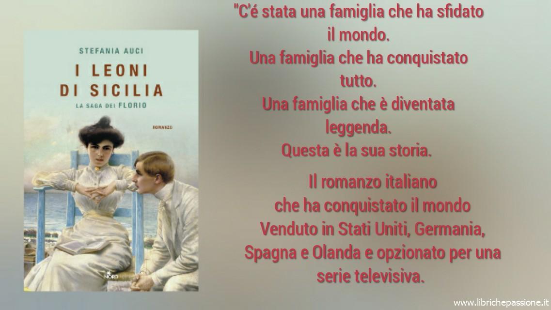 """Vi presento """"I leoni di Sicilia"""" di Stefania Auci edito Nord"""