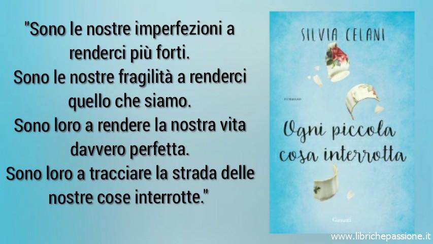 """Vi presento """"Ogni piccola cosa interrotta"""" di Silvia Celani, edito Garzanti.Il caso editoriale dell'anno,una nuova voce di grandissimo talento. Dal 23 Maggio 2019 in tutte le librerie!"""