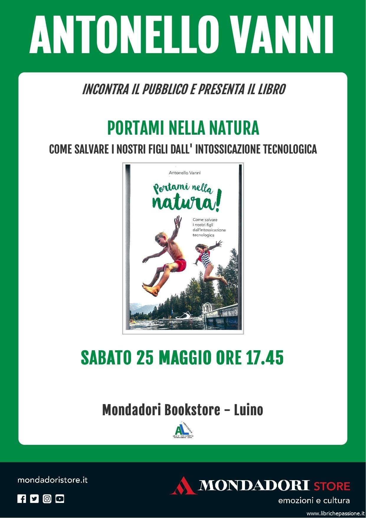 """Vi presento """"Portami nella natura"""" di Antonello Vanni, edito San Paolo"""