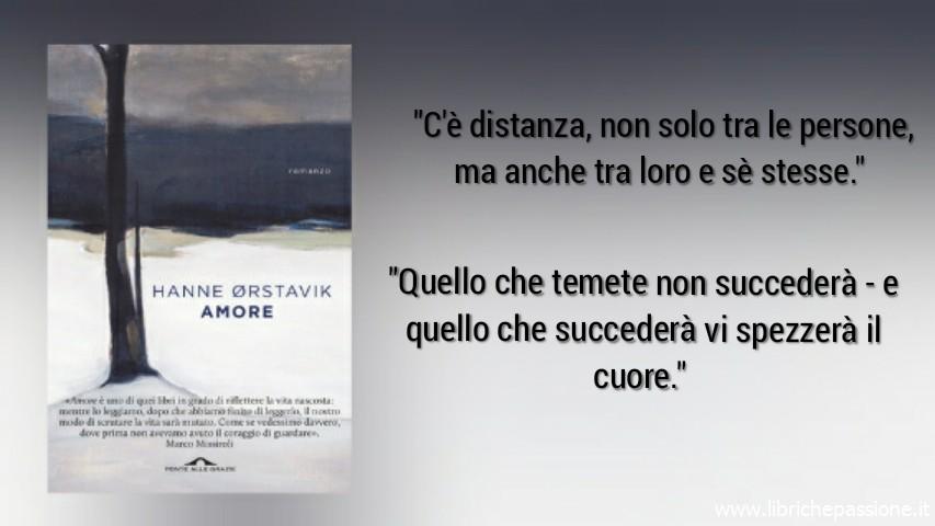 """Vi presento """"Amore"""" di Hanne Orstavik edito Ponte alle Grazie (Estratto)"""