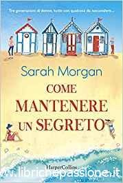 """Segnalazione: """"Come mantenere un segreto"""" di Sarah Morgan edito da HarperCollins. Dal 4 Luglio 2019 in tutte le librerie e on-line."""