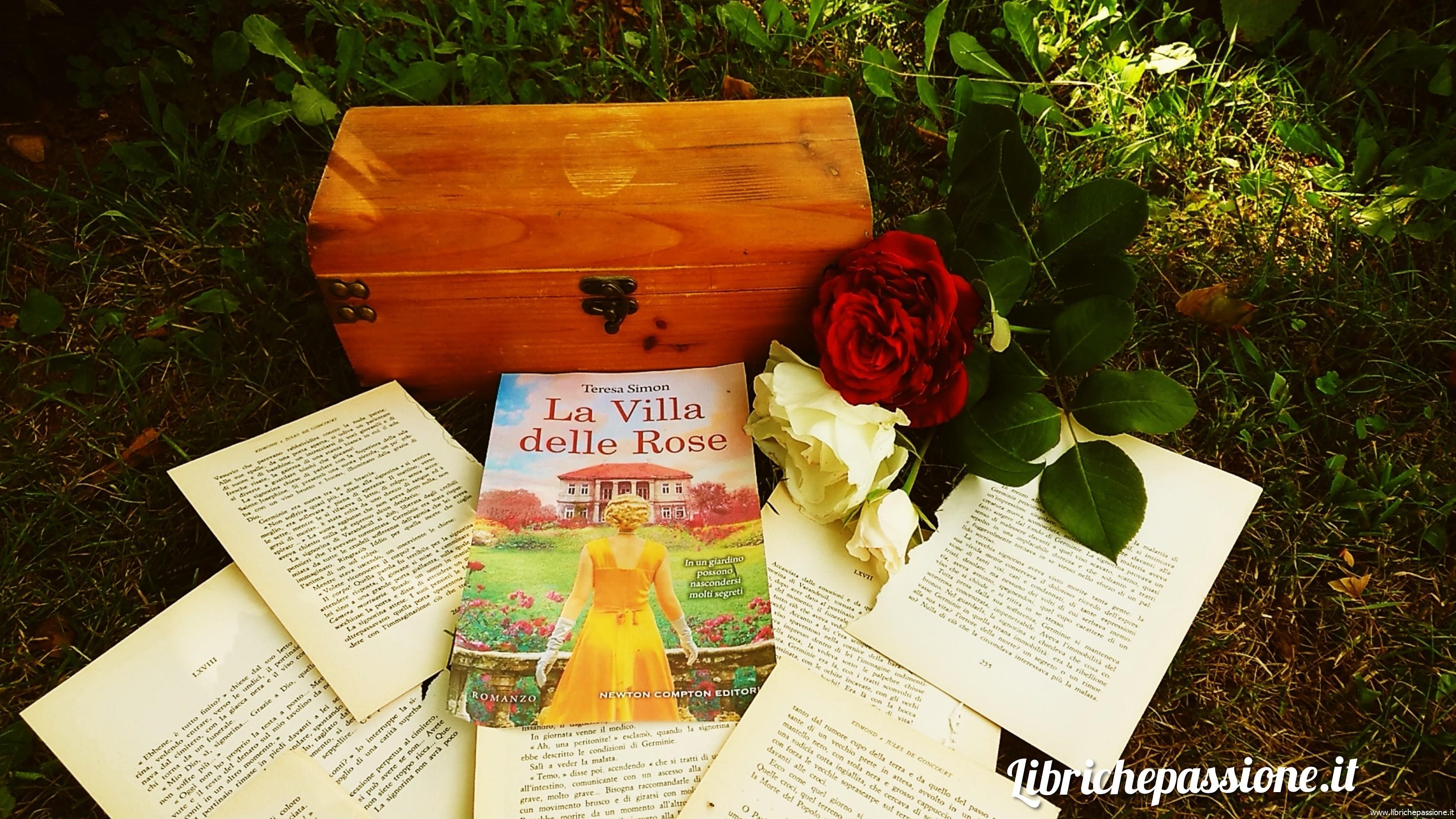 """Recensione del romanzo """"La villa delle rose"""" di Teresa Simon edito da Newton Compton Editori"""