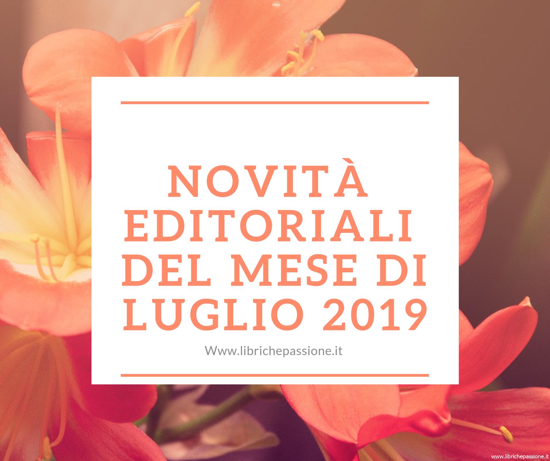 Novità in libreria luglio 2019