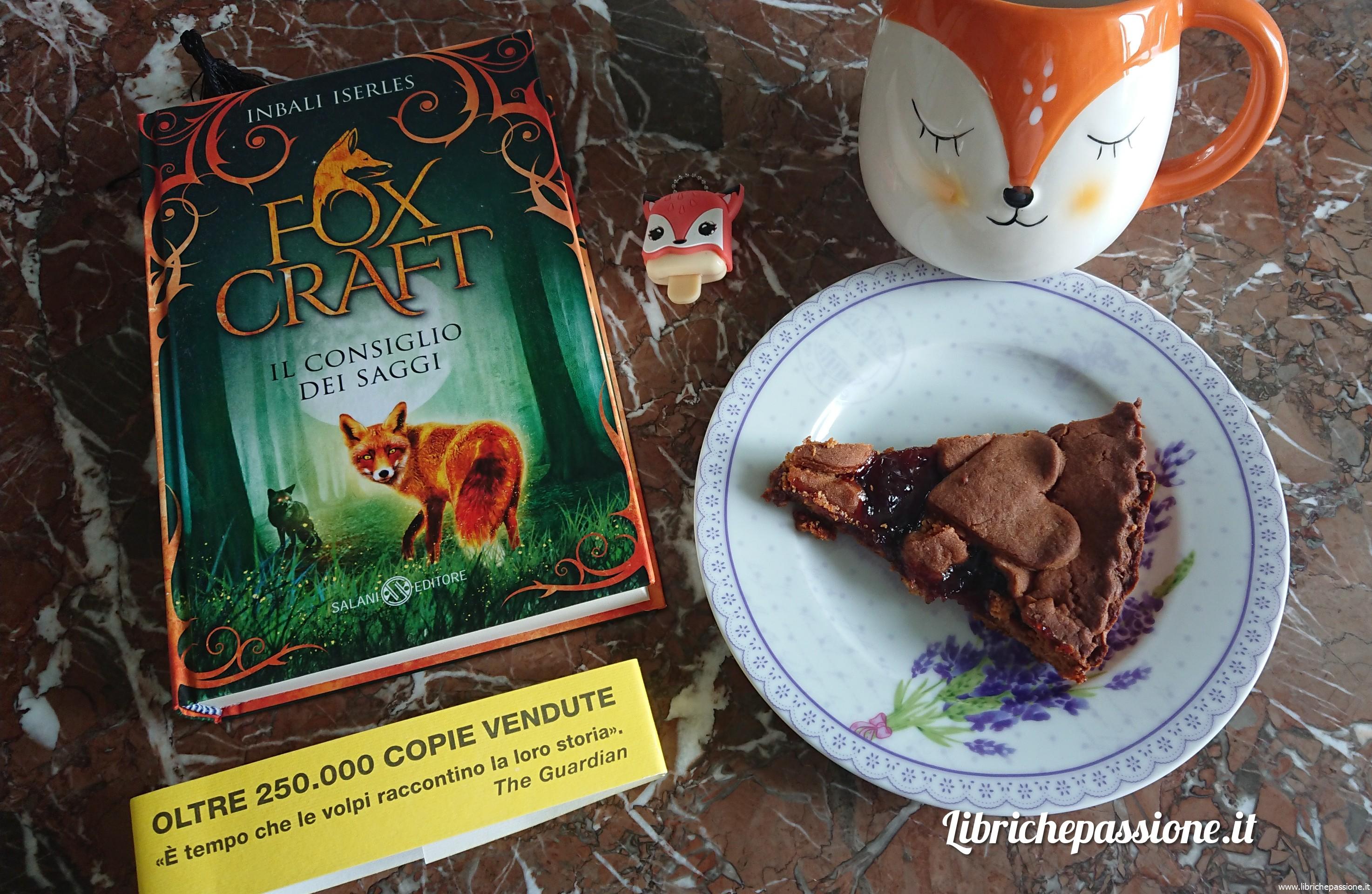 """Fox Craft """"Il consiglio dei saggi"""" di Inbali Iserles edito da Salani Editore. Consiglio di lettura per ragazzi di 11 anni (Estratto)"""