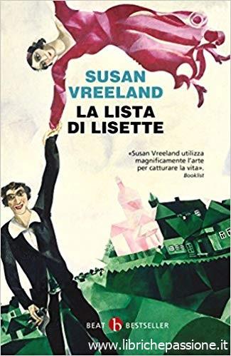 """""""La lista di Lisette"""" di Susan Vreeland edito da Beat"""