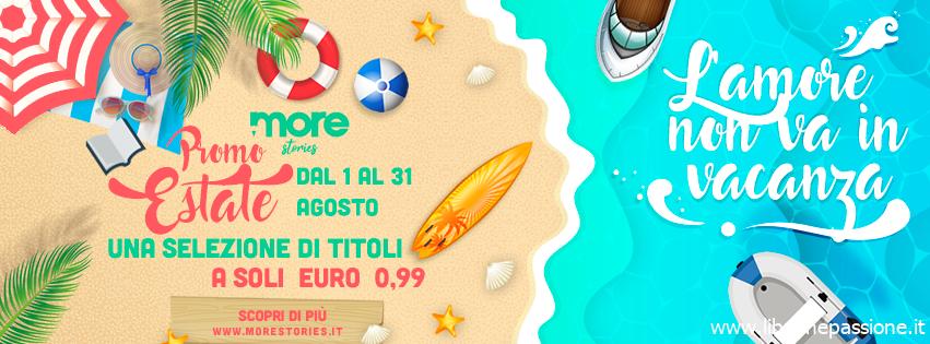 Promozione estate More Stories: tantissimi ebook a soli 0,99 dal 1 al 31 Agosto!