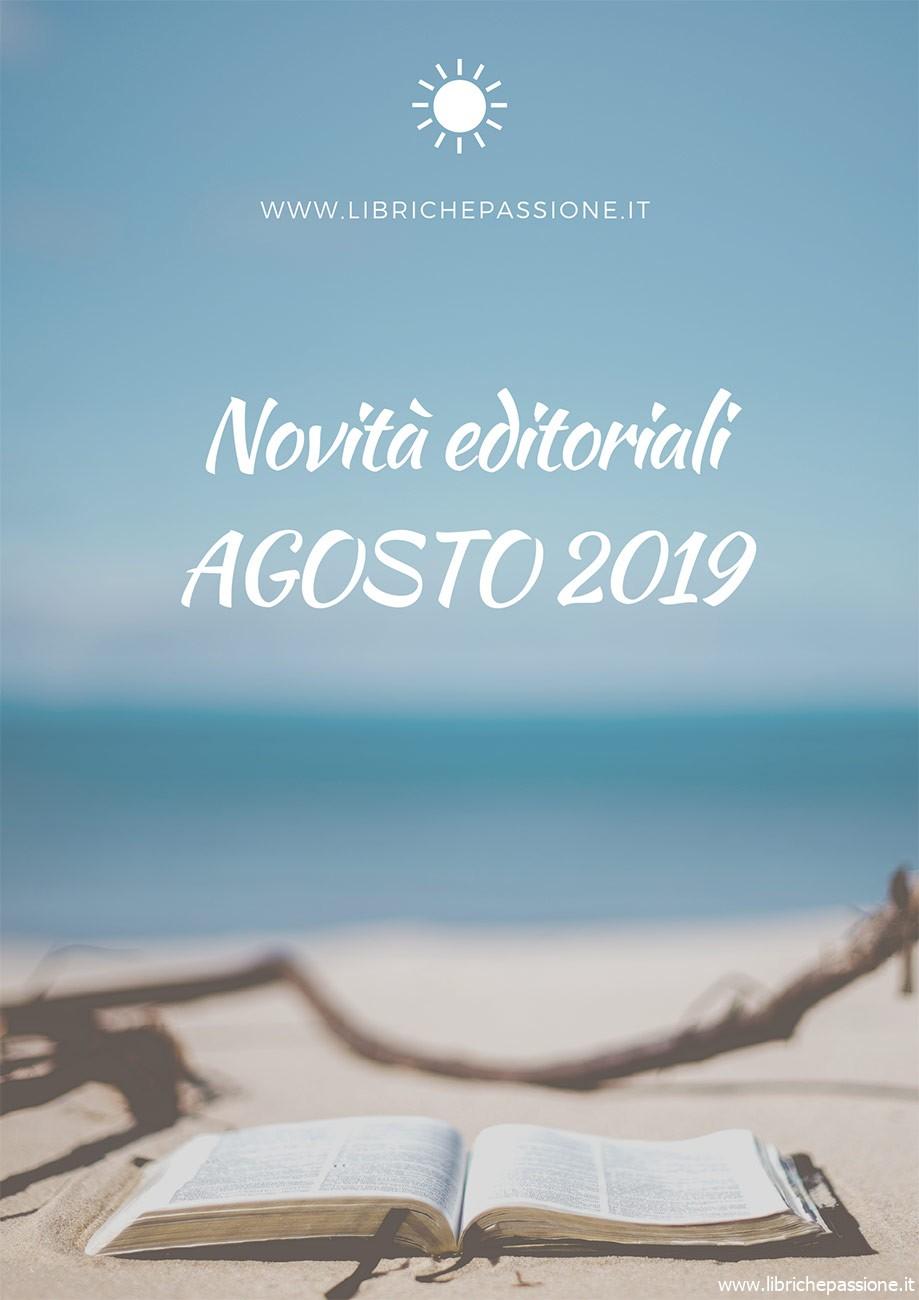 Novità in libreria Agosto 2019