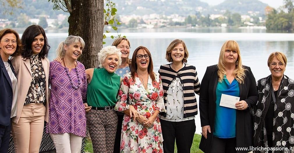 """Premiazione del Concorso Letterario """"Ecosofia"""" organizzato dal PonteMagico di Lavena Ponte Tresa il 29 Settembre 2019"""