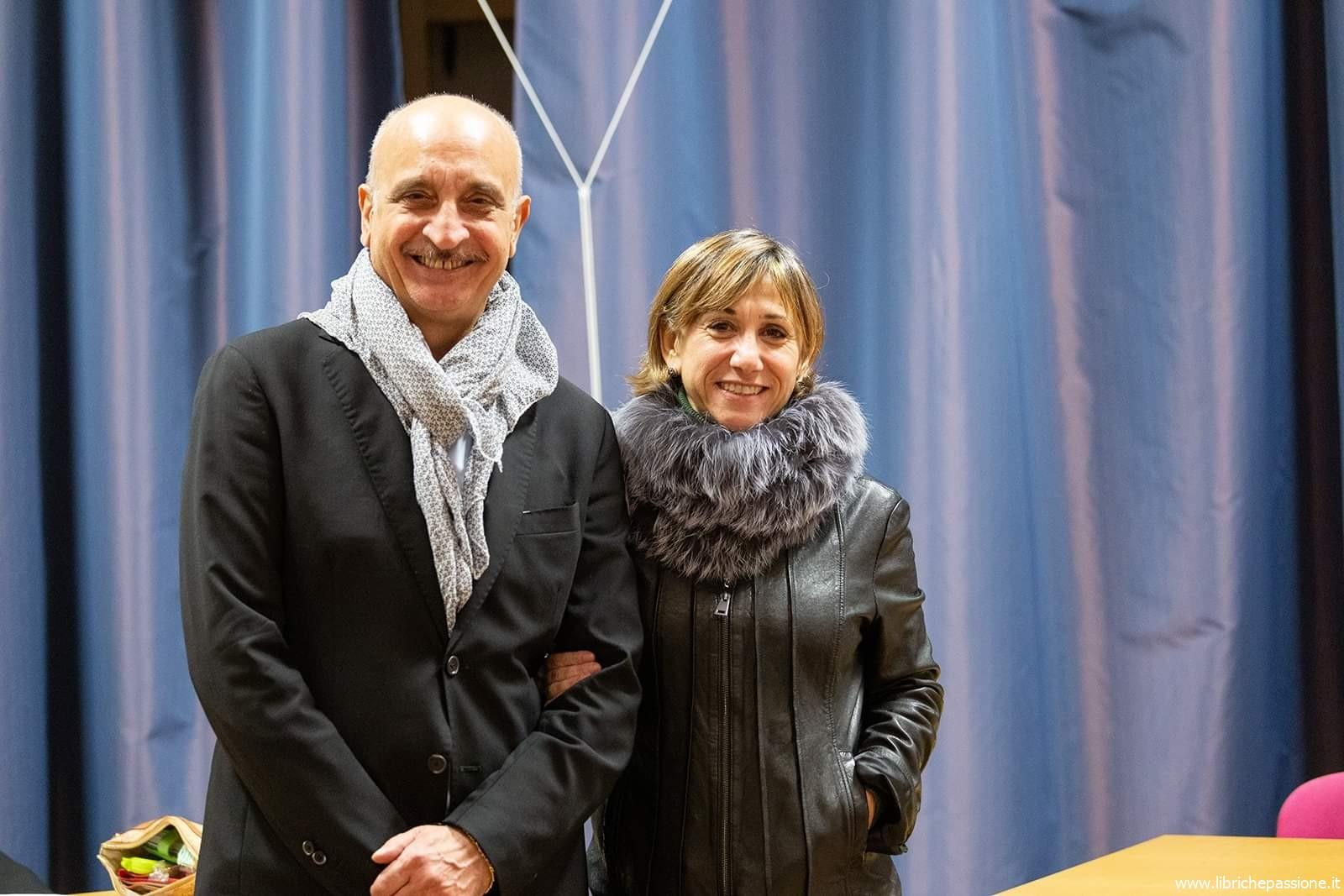 Incontro con gli autori: Filomena (Lena) Lombardo e Enrico Inferrera, 16 Novembre 2019 Induno Olona presso Zer'art