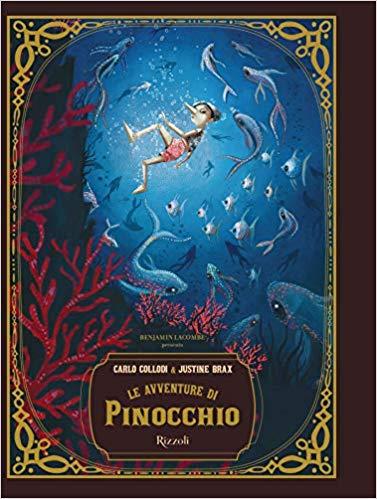 """""""Le avventure di Pinocchio"""" di Carlo Collodi edito da Rizzoli.Lettura consigliata dagli otto anni. Estratto."""