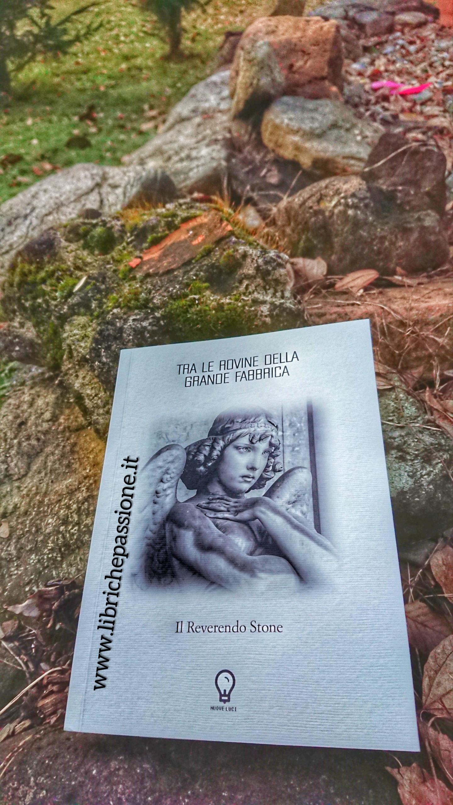 """Recensione del libro di poesie """"Tra le rovine della grande fabbrica"""" di Il Reverendo Stone edito da Amande Edizioni."""