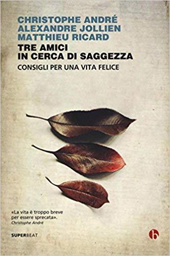 """Libri in pillole: """"Tre amici in cerca di saggezza"""" di Christophe Andrè,Alexandre Jollien, Matthieu Ricard edito da Neri Pozza."""