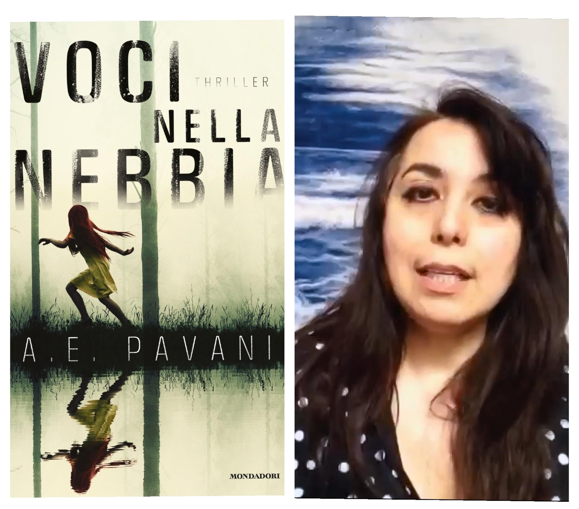 """""""Ve lo legge lo scrittore"""" stasera c'è ospite Anna E. Pavani autrice del romanzo  """"Voci nelle nebbia"""" edito da Mondadori"""