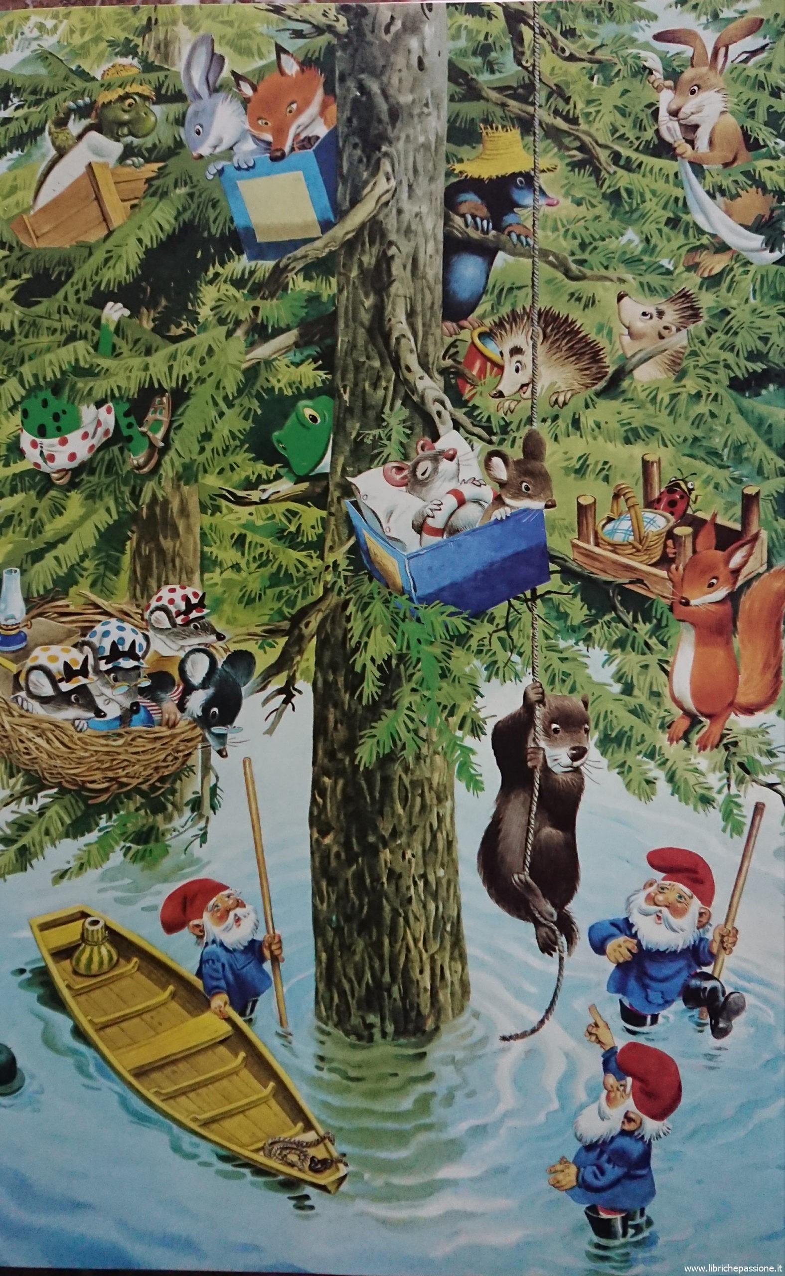 """""""Vi racconto una storia"""" GNOMI testi di Peter Holeinone e illustrazioni di Tony Wolf edito da Dami editore."""