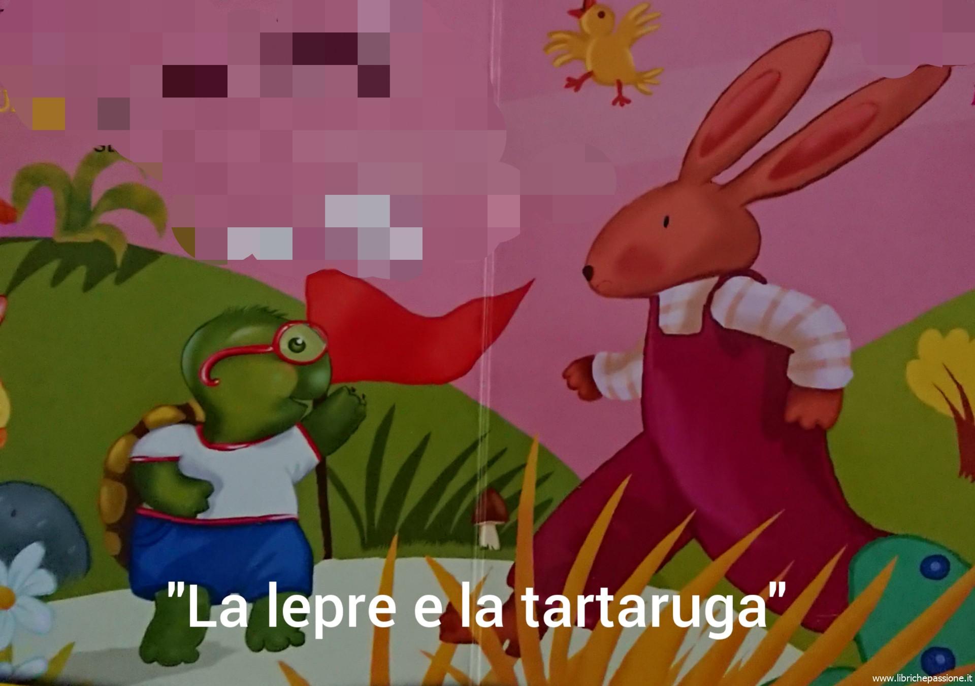 """Vi racconto una storia """"la lepre e la tartaruga"""