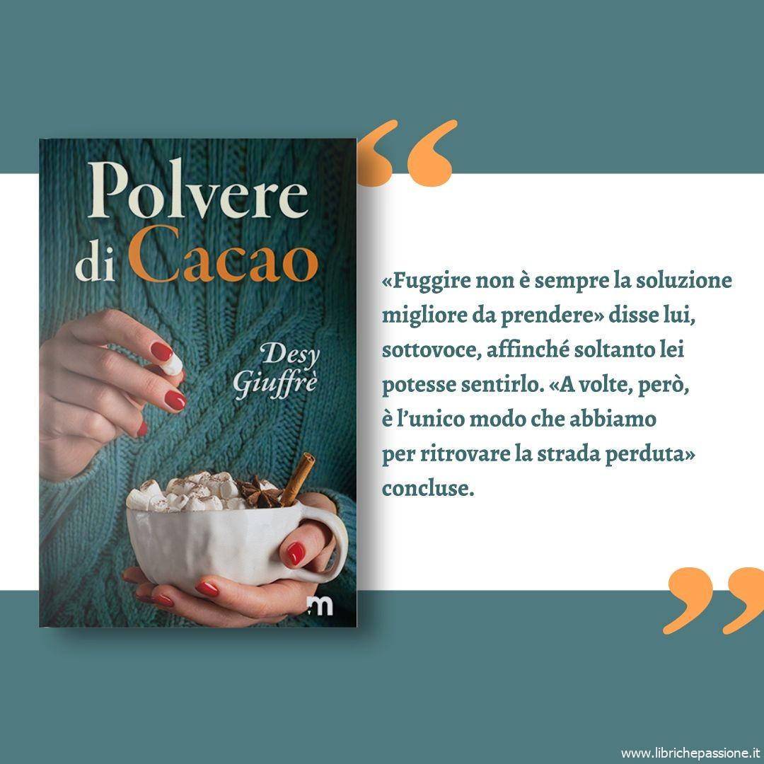 """Segnalazione: """"Polvere di cacao"""" di Desy Giuffrè edito da More Stories."""