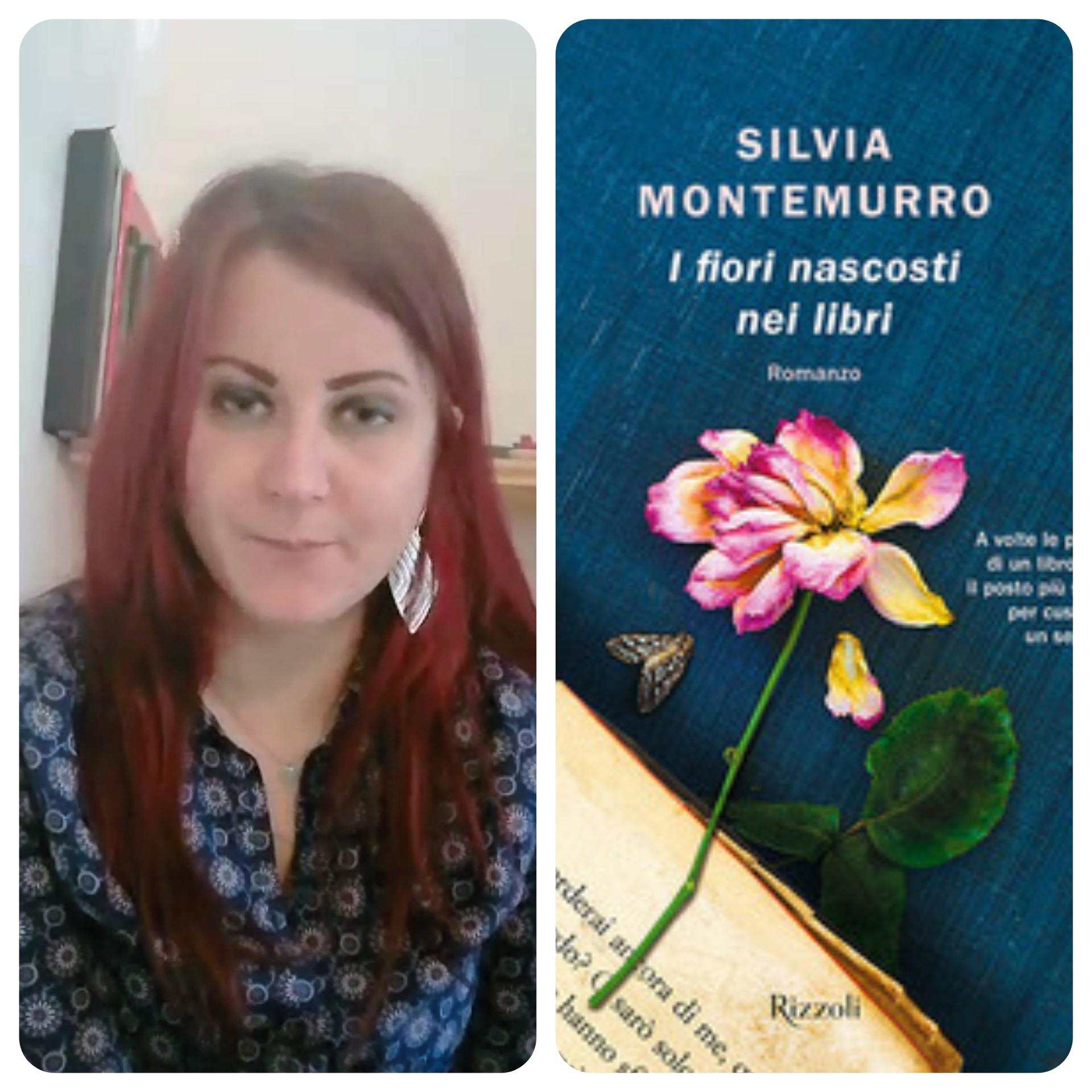 """""""Ve lo legge lo scrittore"""" con Silvia Montemurro autrice del romanzo """"I fiori nascosti nei libri"""" edito da Rizzoli"""