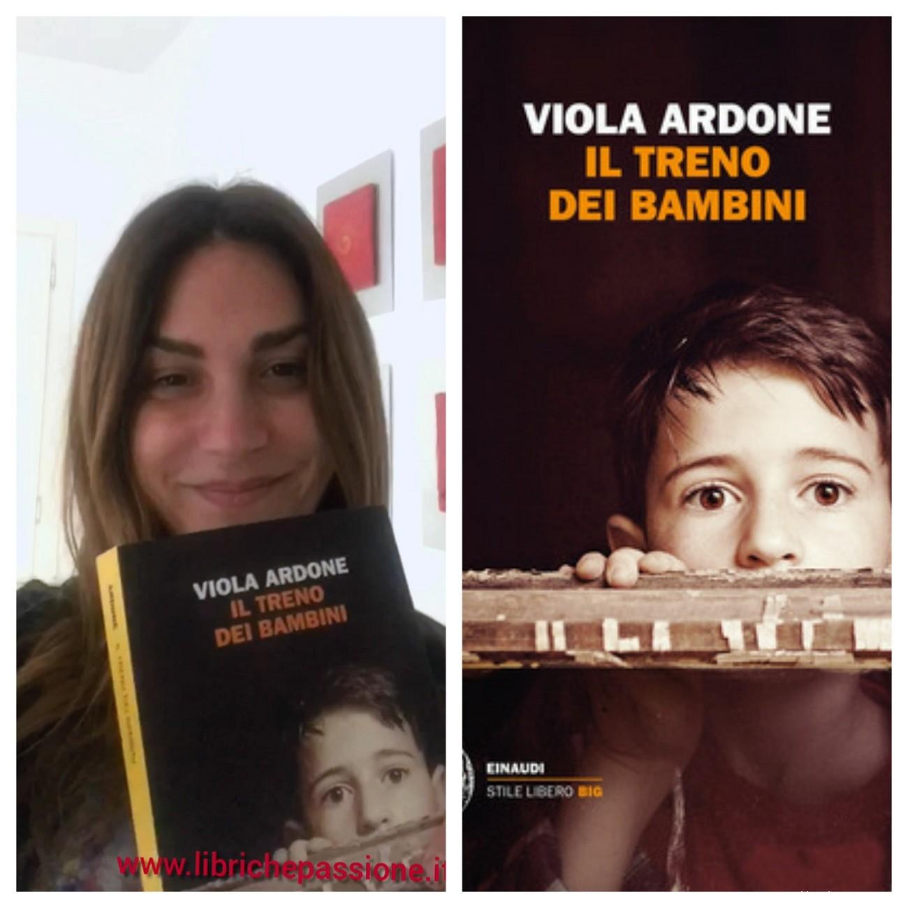"""""""Ve lo legge lo scrittore"""" stasera ospite del Blog c'è   Viola Ardone, autrice del romanzo: """"Il treno dei bambini"""" edito da Einaudi"""
