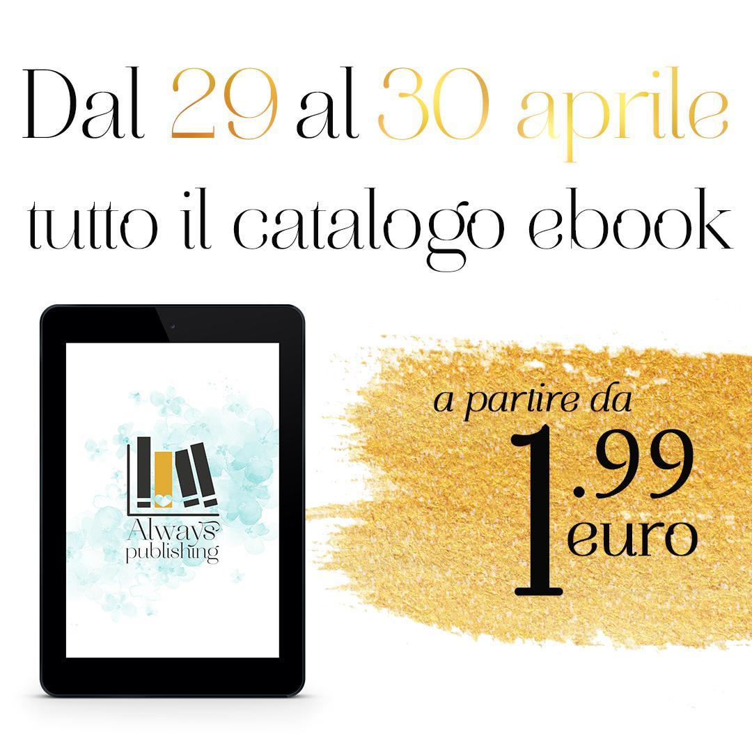 Promozione su tutto il catalogo ebook Always Publishing