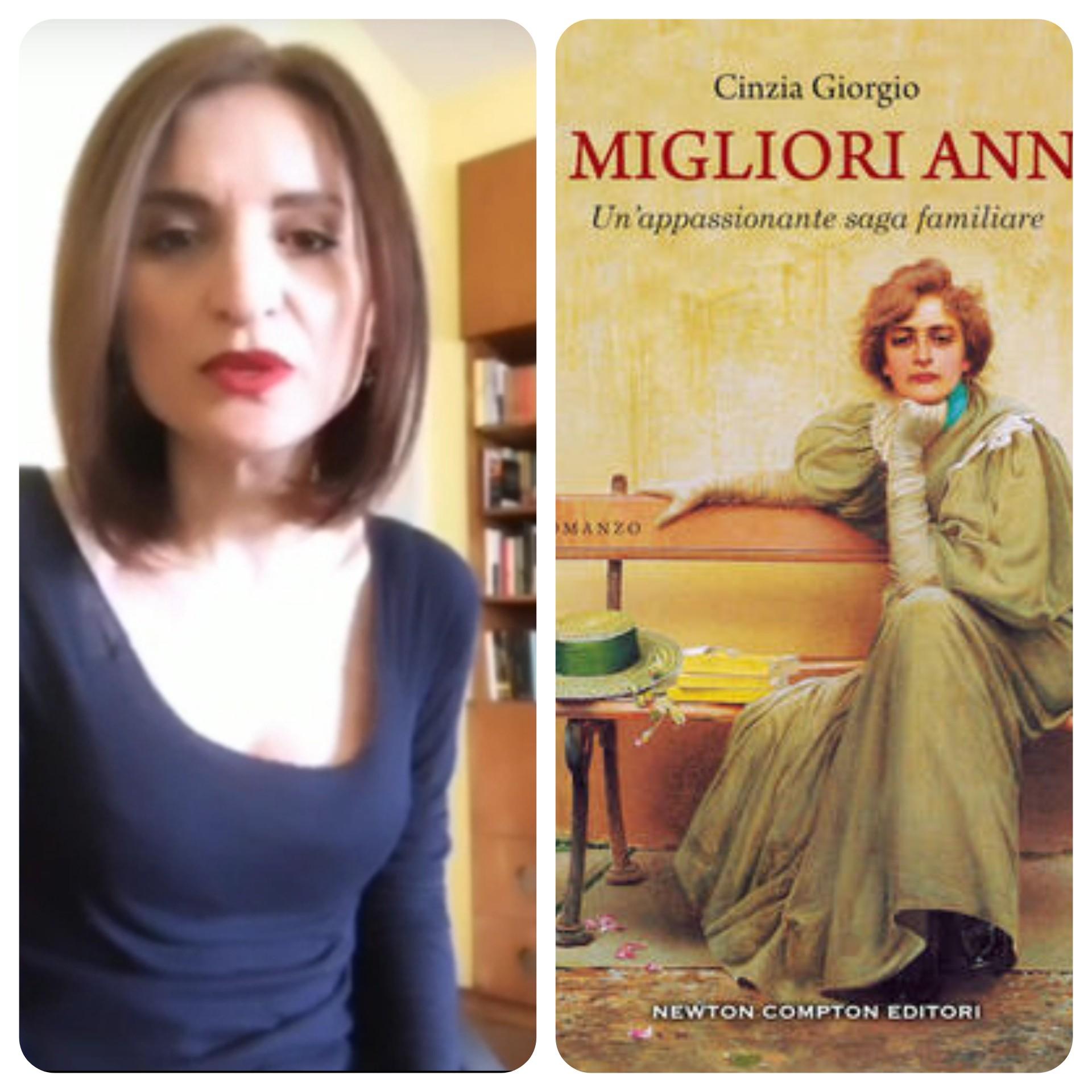 """""""Ve lo legge lo scrittore"""" con Cinzia Giorgio autrice del romanzo """"I migliori anni"""" edito da Newton Compton"""