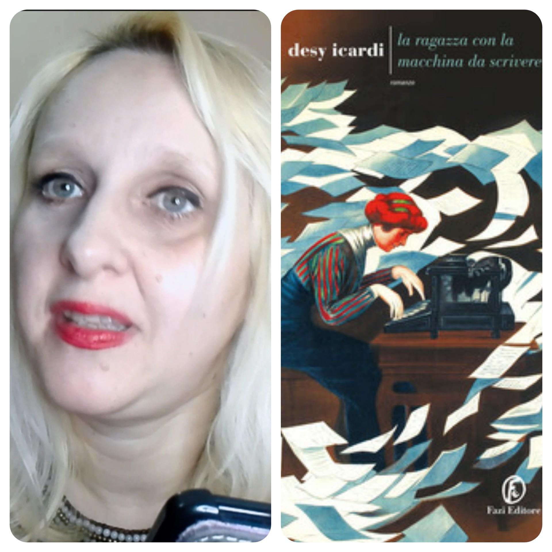 """""""Ve lo legge lo scrittore"""" con Desy Icardi autrice del romanzo """"La ragazza con la macchina da scrivere"""" edito da Fazi Editore"""