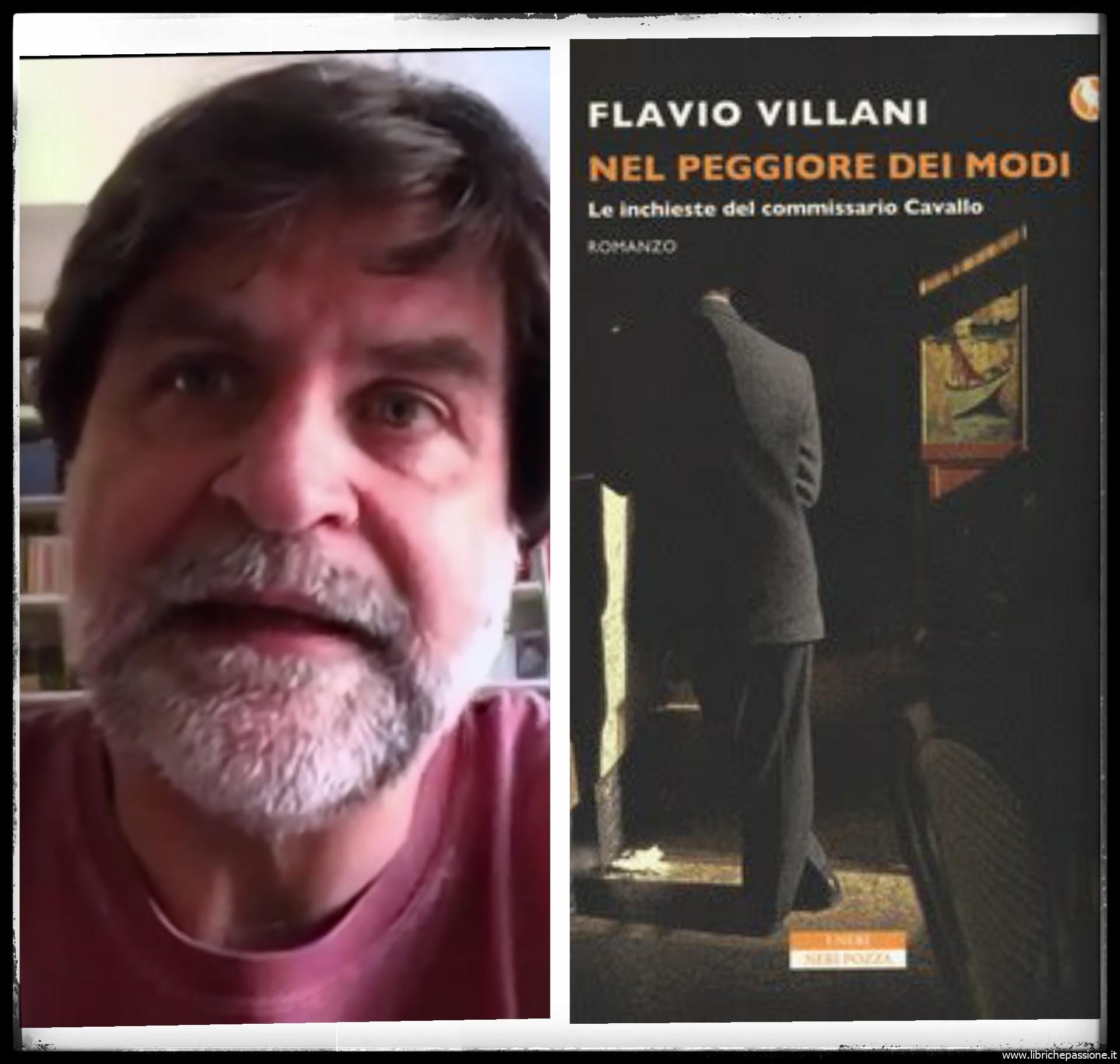 """""""Ve lo legge lo scrittore"""" con Flavio Villani autore del romanzo """"Nel peggiore dei modi"""" edito da Neri Pozza"""