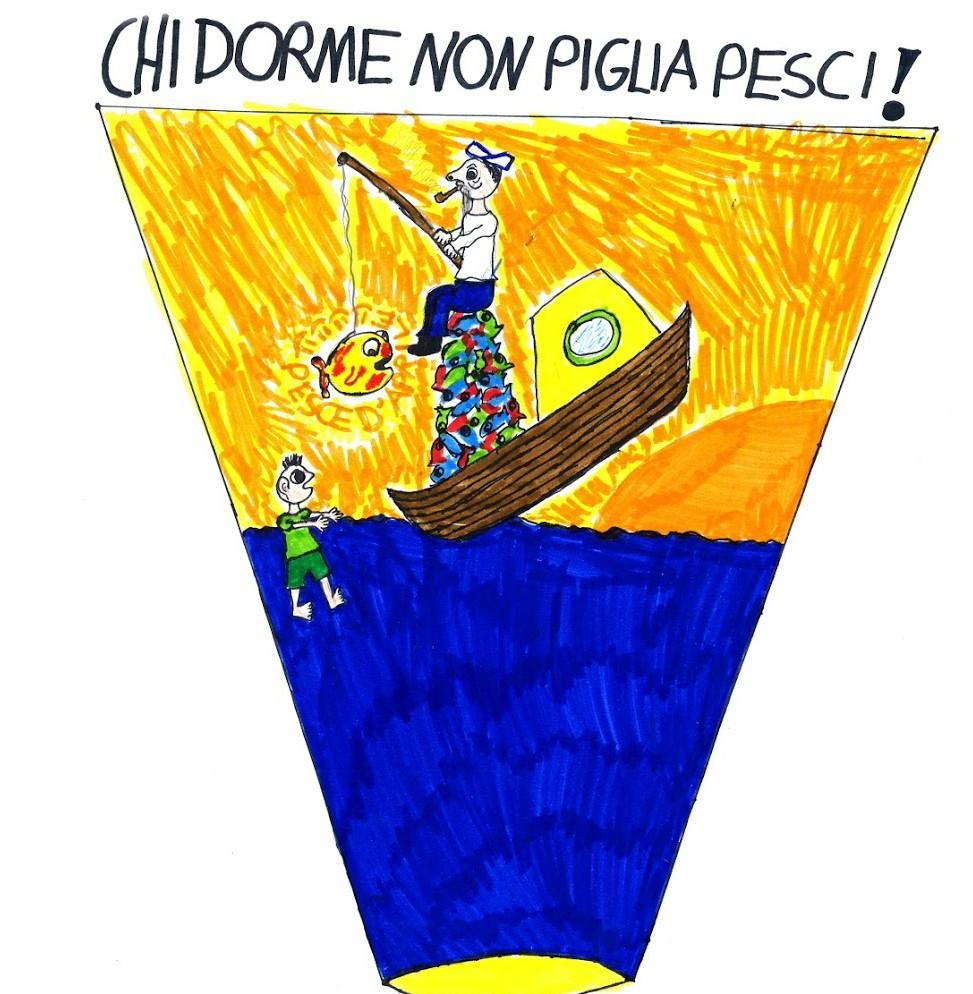 """Vi racconto una storia: """"Il pescatore d' Aprile"""" di Andrea Carbonari"""