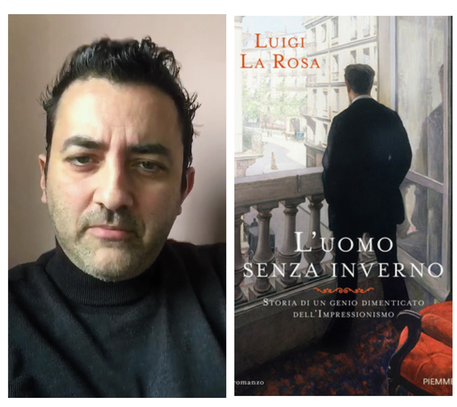 """""""Ve lo legge lo scrittore"""" con Luigi La Rosa autore del romanzo """"L'uomo senza inverno"""" edito da Piemme"""
