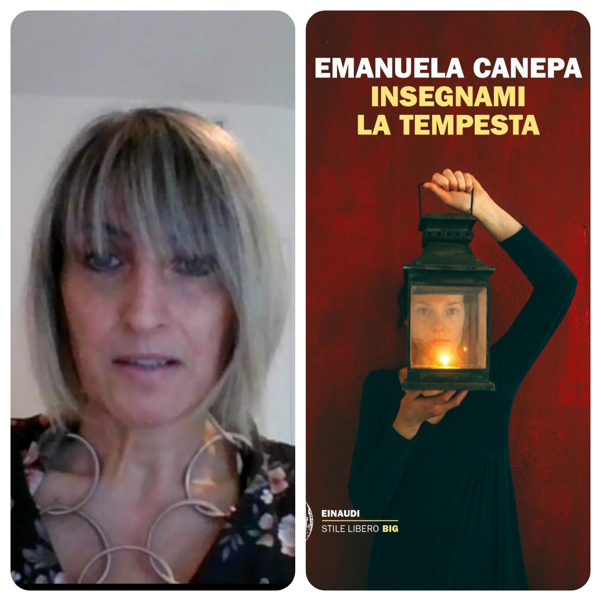 """""""Ve lo legge lo scrittore"""" stasera ospite del Blog c'è Emanuela Canepa autrice del romanzo """"Insegnami la tempesta"""" edito  da Einaudi"""