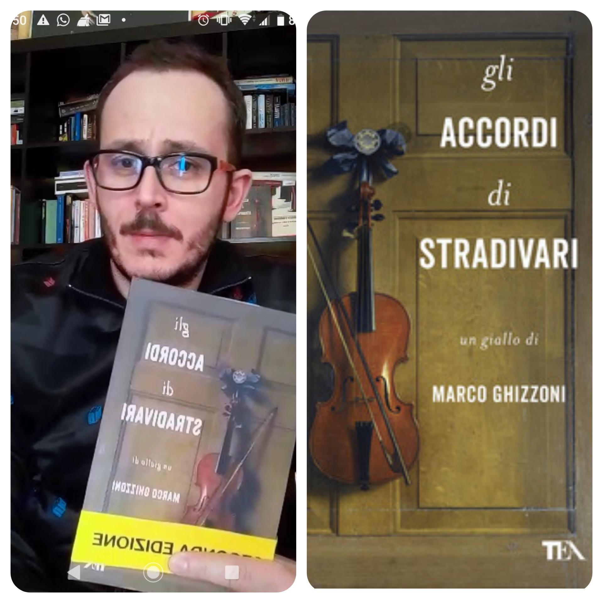 """""""Ve lo legge lo scrittore"""" stasera ospite del Blog c'è Marco Ghizzoni autore del romanzo """"Gli accordi di Stradivari"""" edito da Tea"""