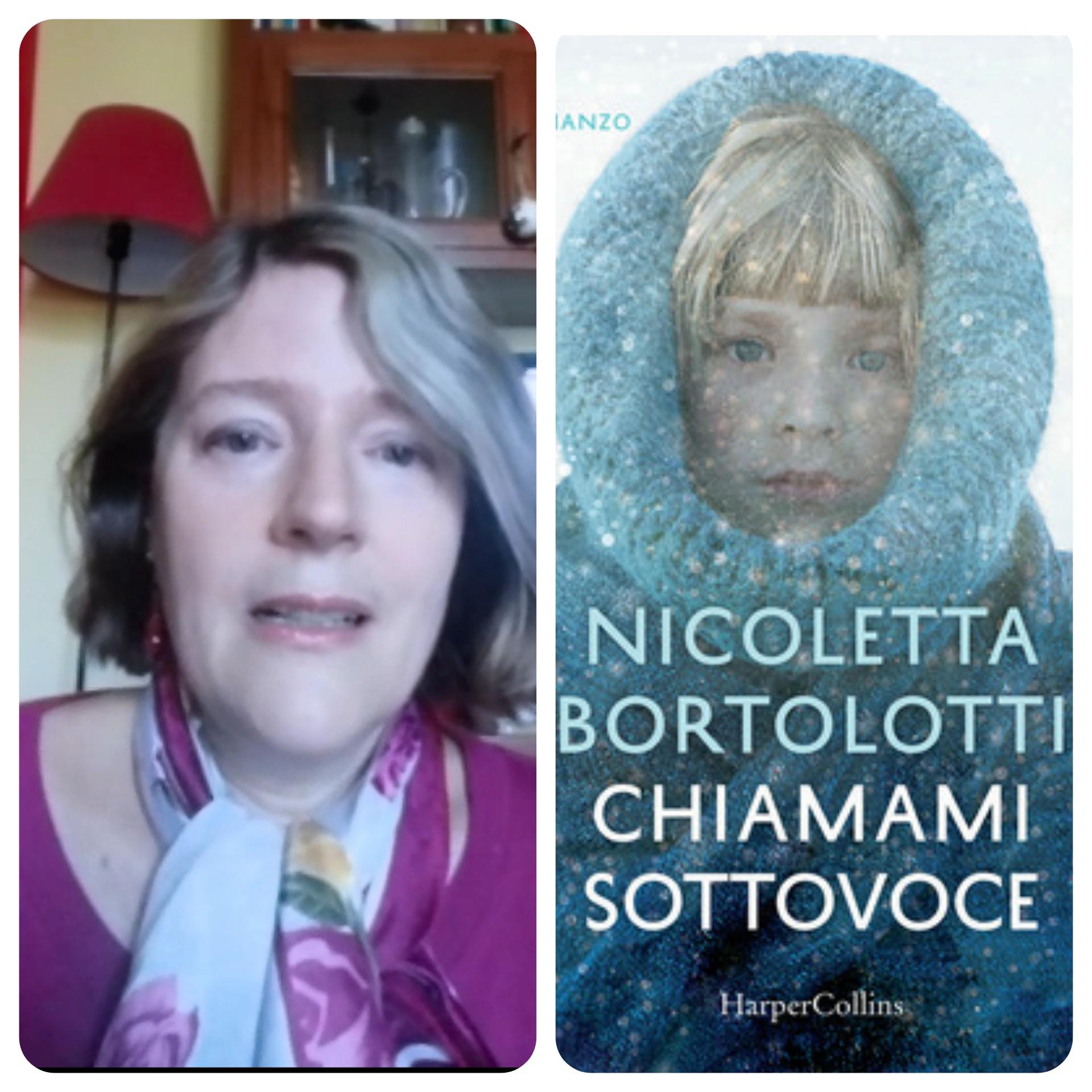 """""""Ve lo legge lo scrittore"""" stasera ospite del Blog c'è Nicoletta Bortolotti autrice del romanzo """"Chiamami sottovoce"""" edito da HarperCollins"""