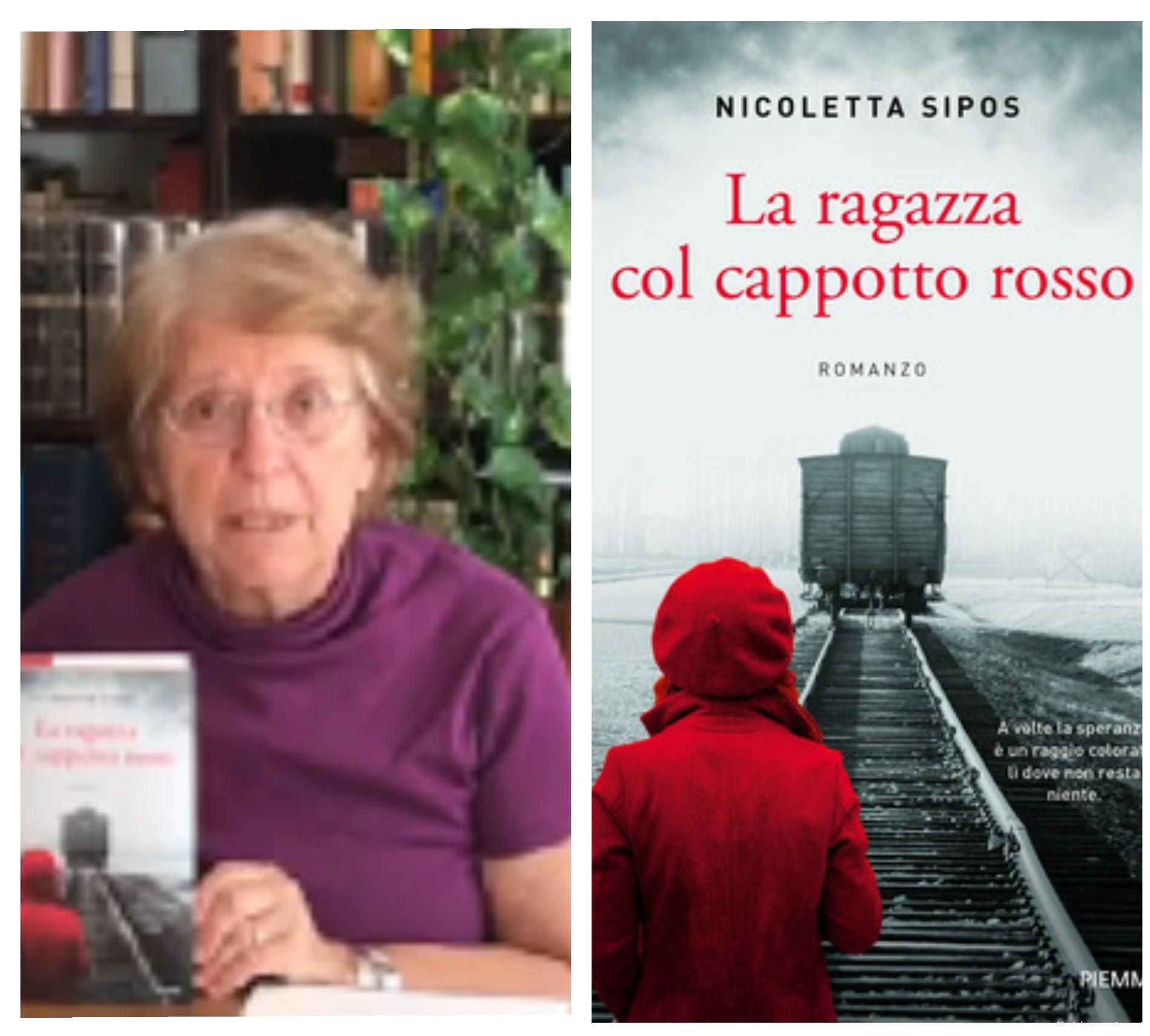 """""""Ve lo legge lo scrittore"""" con Nicoletta Sipos autrice del romanzo """"La ragazza col cappotto rosso"""" edito da Piemme"""