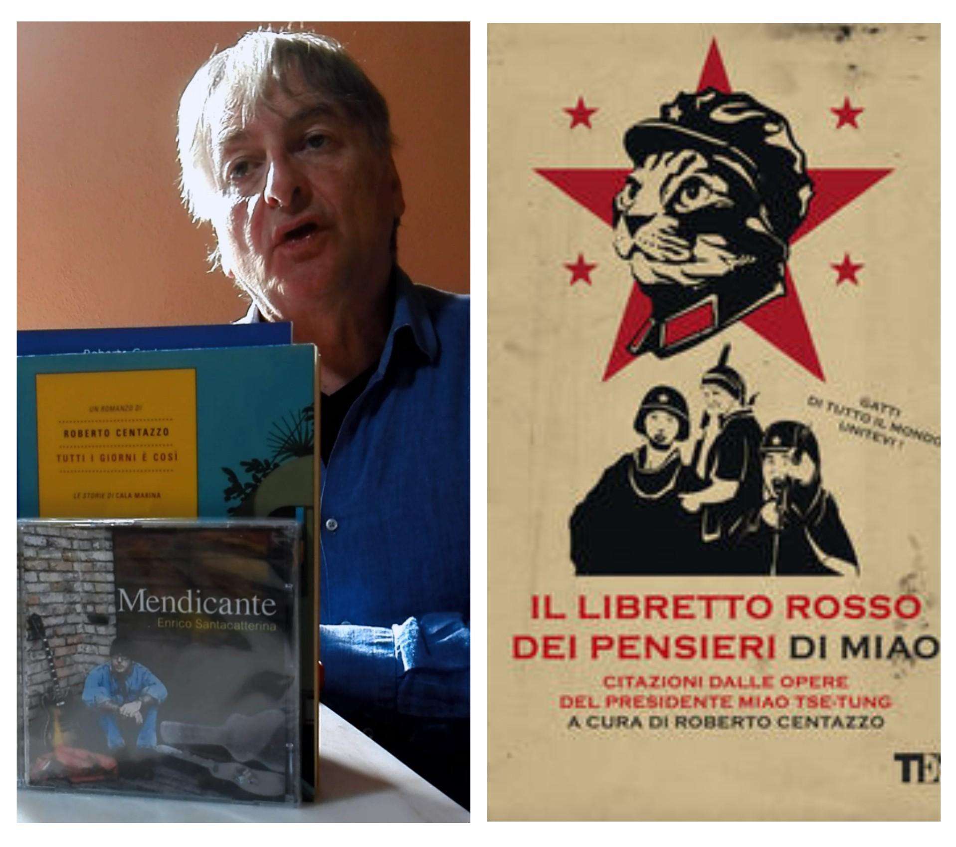 """""""Ve lo legge lo scittore"""" con Roberto Centazzo che ci parla del romanzo """"Il libretto rosso dei pensieri di Miao"""" edito da Tea"""