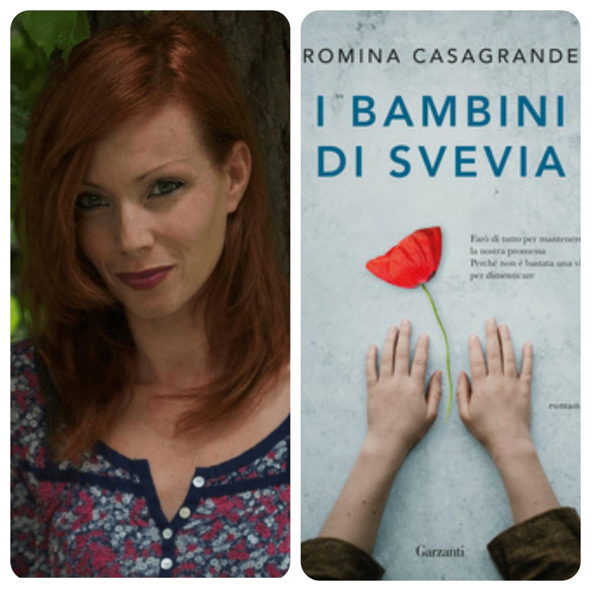 """""""Ve lo legge lo scrittore"""" stasera ospite del Blog : Romina Casagrande autrice del romanzo """"I bambini di Svevia"""" edito da Garzanti"""