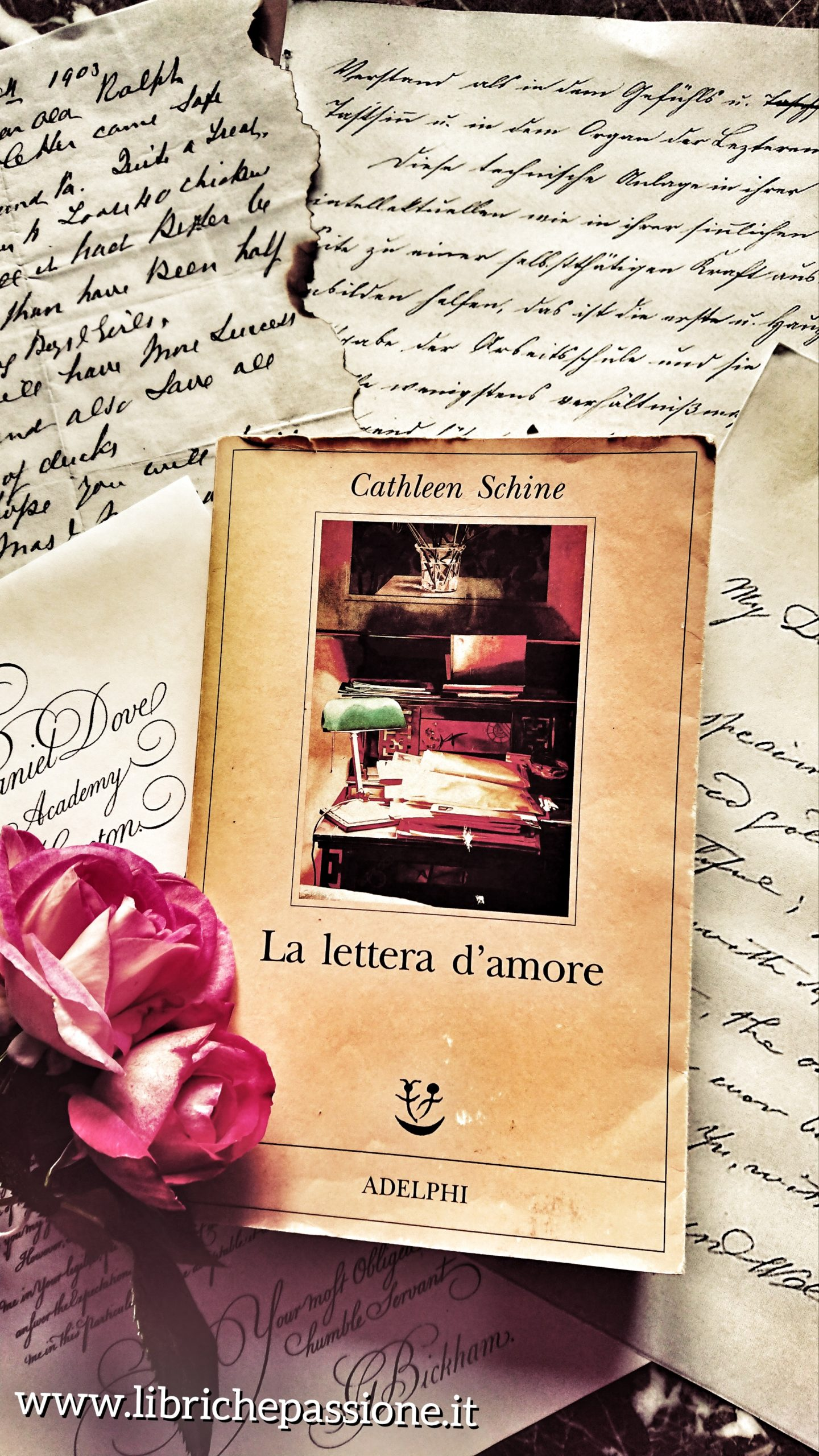 """Recensione del romanzo """"La lettera d'amore"""" di Cathleen Schine edito da Adelphi"""