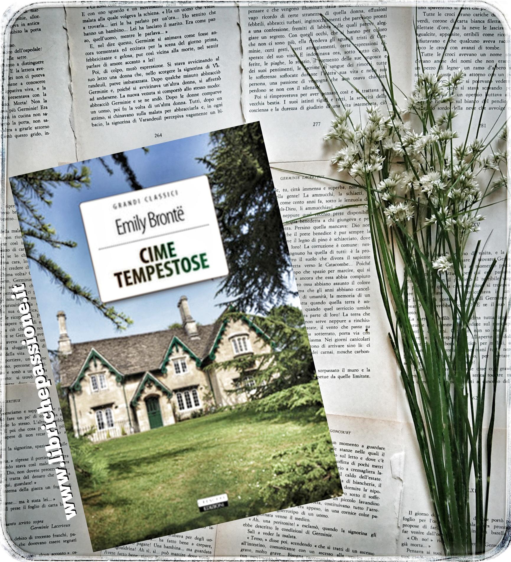 """Recensione del romanzo """"CIME TEMPESTOSE"""" di Emily Brontë edito da Crescere edizioni"""