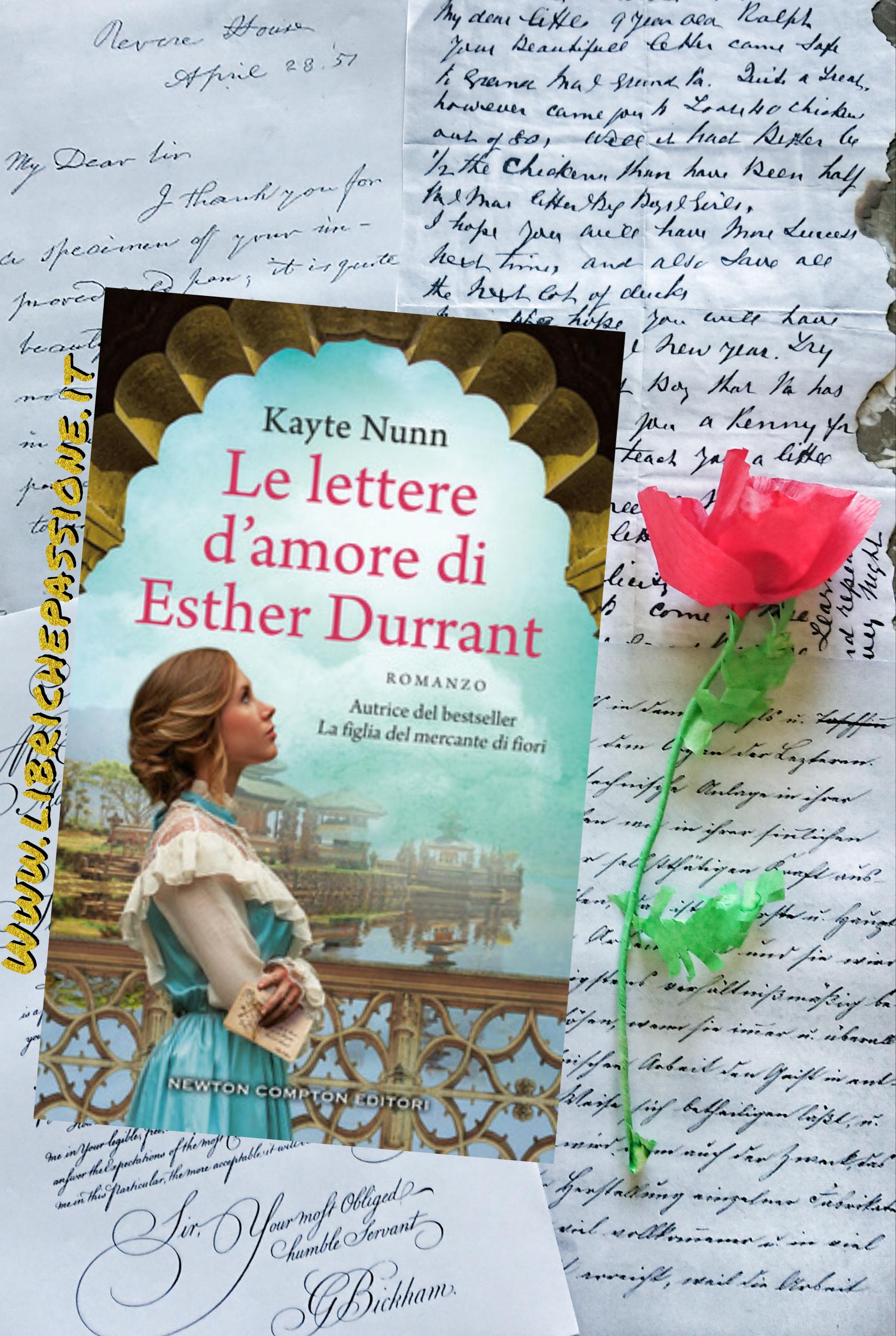 """Recensione del romanzo """"Le lettere d'amore di Esther Durrant"""" di Kayte Nunn edito da Newton Compton"""