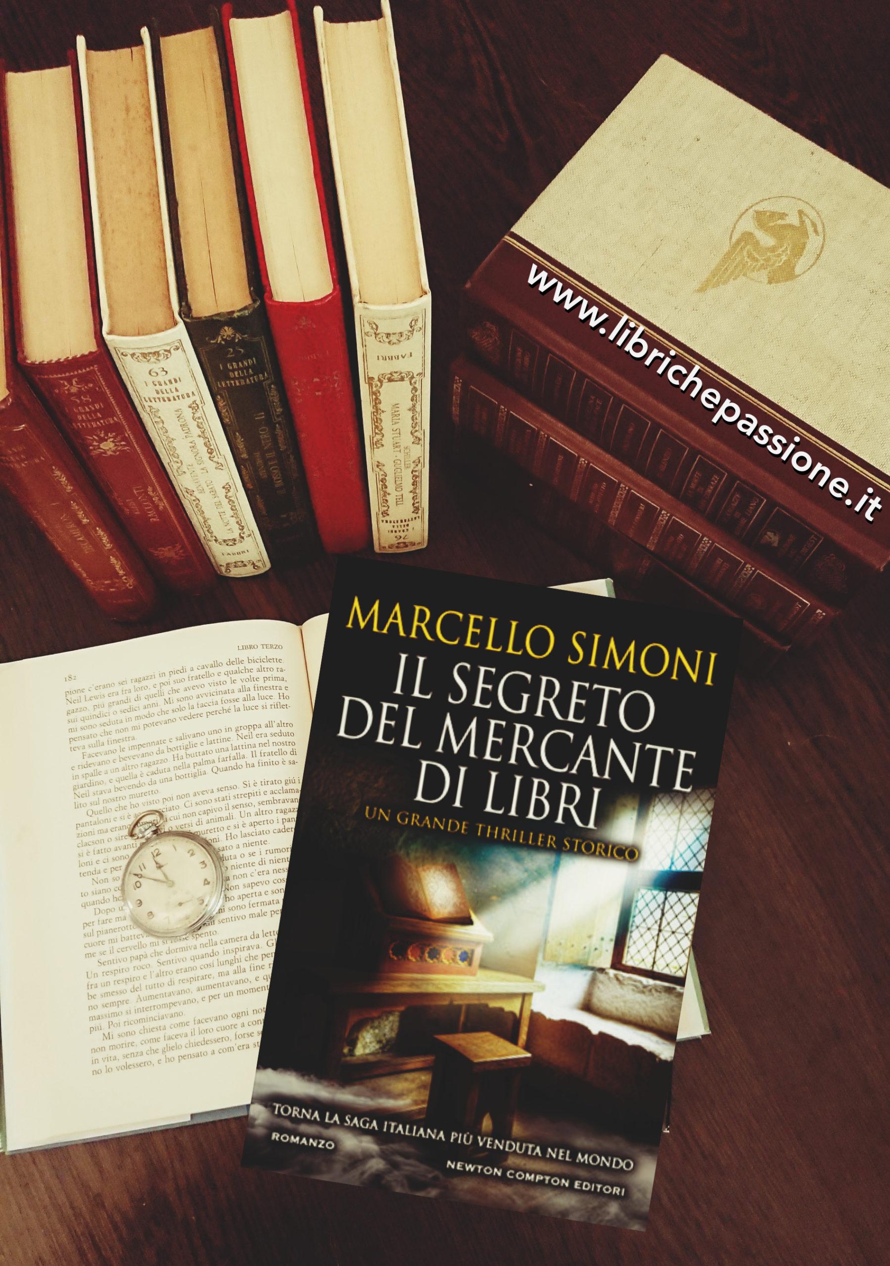 """Recensione del romanzo """"Il segreto del mercante di libri"""" di Marcello Simoni edito da Newton Compton"""