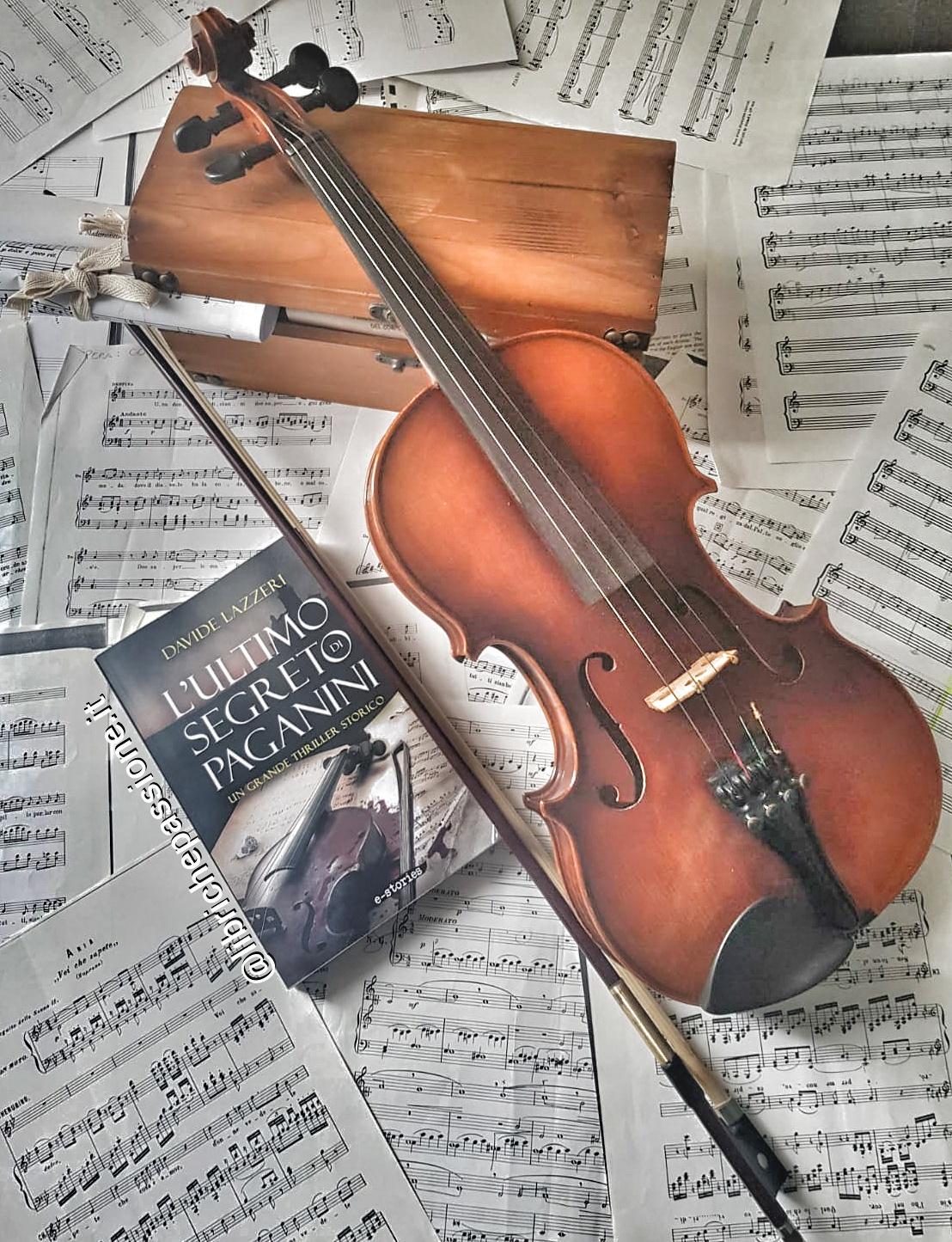 """Recensione del romanzo """"L'ultimo segreto di Paganini"""" di Davide Lazzeri edito da Aliberti e-stories"""
