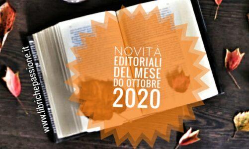 Novità in libreria Ottobre 2020